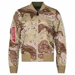 Alpha Industries MA-1 Men's Jacket Double Camo Reversible De