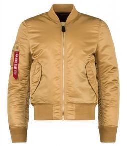 Alpha Industries MA-1 Slim Fit Flight Men's Jacket Camel Dee