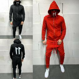 Man's Tracksuit Sport Suit Hoodie Sweater Sweatshirt Pullove
