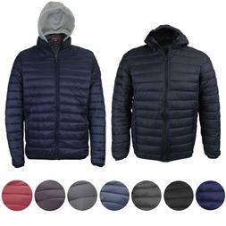 Maximos Men's Slim Fit Lightweight Zip Insulated Packable