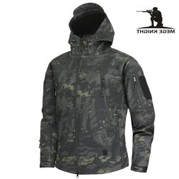 Mege Shark Skin Soft Shell Military Tactical <font><b>Jacket