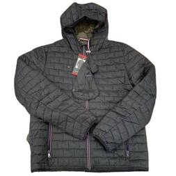 Tommy Hilfiger Men Brick Quilted Packable Hooded Jacket Colo