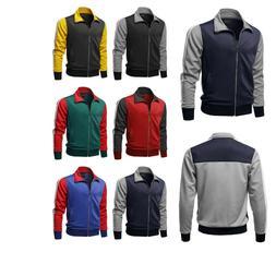 FashionOutfit Men Casual Premium Shoulder Panel Color Block