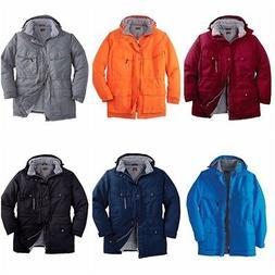 Boulder Creek Men Expedition Parka Winter Jacket Coat Big Ta