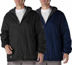 Men Jackets DICKIES Fleece lined Hooded Nylon Jacket Water R