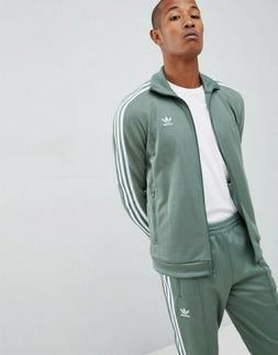 Men Adidas Originals Beckenbauer Track Jacket Trace Green  D