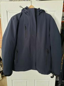 Calvin Klein Men's 3 in 1 All Season Jacket Large Navy Coat