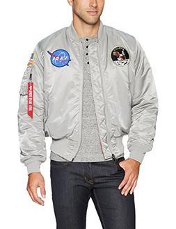 Alpha Industries Men's Apollo MA-1 MID Length Flight Jacket,