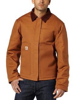 Carhartt Men's Arctic Quilt Lined Duck Traditional Jacket,Br
