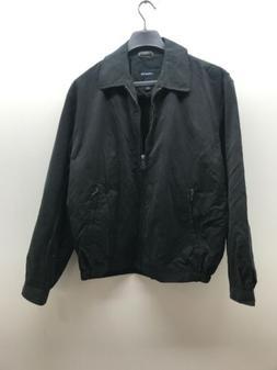London Fog  Men's Auburn Zip-Front Golf Jacket, Black