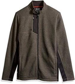 IZOD Men's Big and Tall Shaker Fleece Jacket - Choose SZ/col