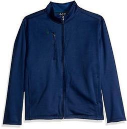 IZOD Men's Big and Tall Spectator Solid Fleece Jacket, Estat