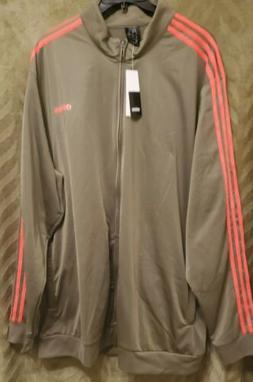 Adidas Men's Big & Tall Tricot Track Jacket Size 4XLT