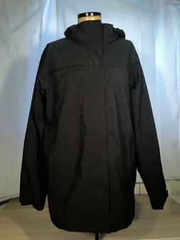 ExOfficio Men's Black Leshan Waterproof Jacket with Detachab