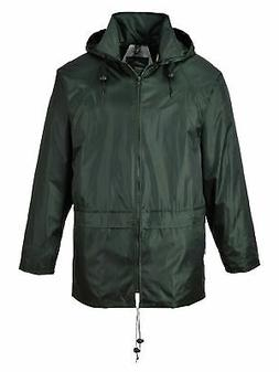 Portwest Men's Classic Rain Jacket 4XL  - Olive