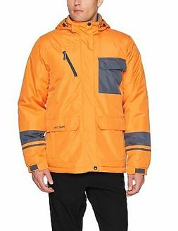 Men's Cliff Insulated Winter Jacket, X-Large, Burnt Orange A