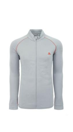 adidas Men's ClimaWarm ClimaHeat Full Zip Jacket Clear Onix