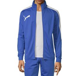 PUMA Men's Contrast-Stripe Track Jacket NEW NWT