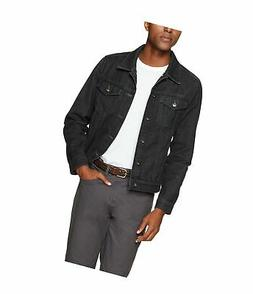 Goodthreads Men's Denim Jacket Black Medium