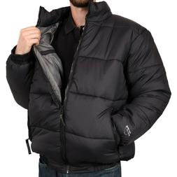 Freeze Defense Mens Down Alternative Warm Puffer Winter Jack