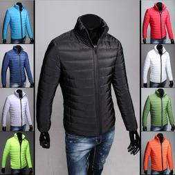Men's Down Coat Winter Thick Hoodie Outerwear Jacket Hooded