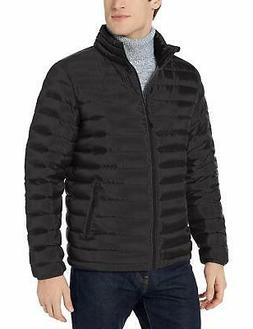 men s down puffer jacket black x