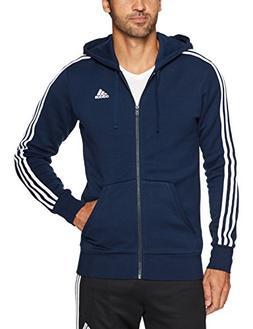 men s essentials 3 stripe full zip