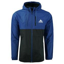 men s essentials hooded wind jacket