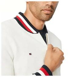 Men's Tommy Hilfiger Fall Basic Baseball collar Full Zip Swe