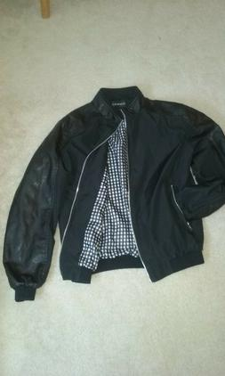 Men's Faux Leather Tanming Jacket, Men's XS size fall/winter