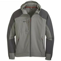 Outdoor Research Men's Ferrosi Hooded Jacket Pewter / Storm