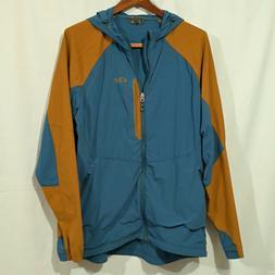 Outdoor Research Men's Ferrosi Hooded Jacket XL Blue / Orang