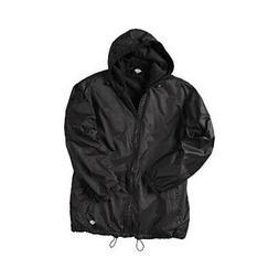 Dickies Men's   Fleece Lined Hooded Nylon Jacket