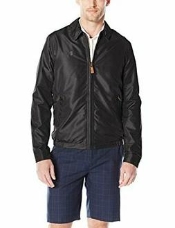 IZOD Men's Golf Jacket with Faux Leather Tabs - Choose SZ/co