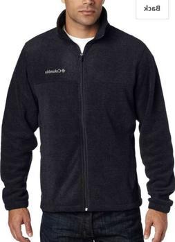 men s granite mountain fleece jacket black