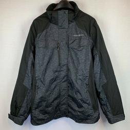 ZeroXposur Men's Gray/Black Polyester Jacket - Size XL