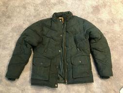 Legendary Whitetails Men's Green Insulated Jacket Coat Size