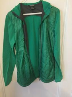 Men's Outdoor Research Green Jacket with hood Medium Slim Fi