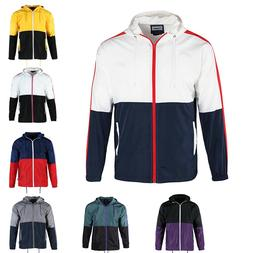 Beautiful Giant Men's Hooded Water Resistant Lightweight Win
