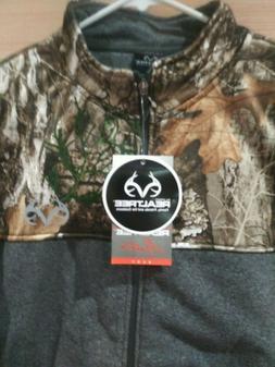 Men's Hunting Camouflage Jacket Size Large Color Grey Warm L