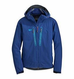 Outdoor Research Men's Iceline Jacket Baltic/Typhoon Large