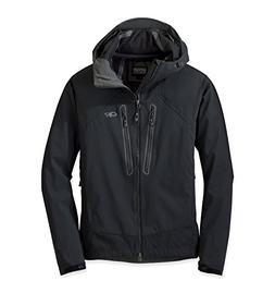 Outdoor Research Men's Iceline Jacket, Black, Large
