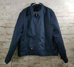 Dickies Men's Insulated Eisenhower Front-Zip Jacket Navy XL