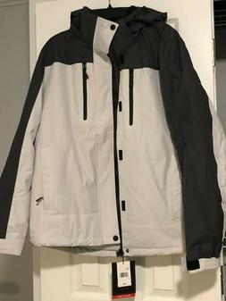 Zeroxposur Men's insulated Jacket size L all weather frost g