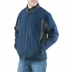 RefrigiWear Men's Insulated Softshell Jacket - Water-Resista