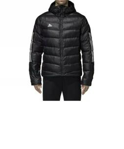 adidas Men's Itavic 3-Stripe Performance Jacket - Black .