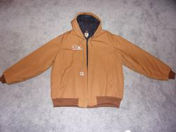 """Carhartt Men's J140BRN Quilted Lined Jacket 2XL- Tall """"Ford"""