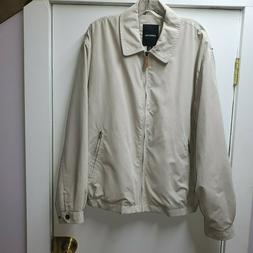 London Fog Men's Jacket Khaki Size L