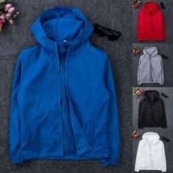ff1c6f483 Editorial Pick Men's Jacket Waterproof Hooded Outdoor Camping Windbreaker O