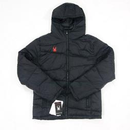 Men's Spyder Jacket Waterproof Insulated Black NWT Msrp $199